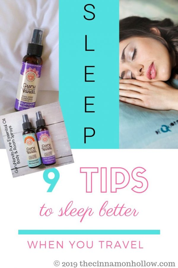 Check out these 9 Tips To Sleep Better When You Travel bit.ly/2GTv7JI @GuruNandaEO #essentialoils #sleep #sleepbetter #travel ad