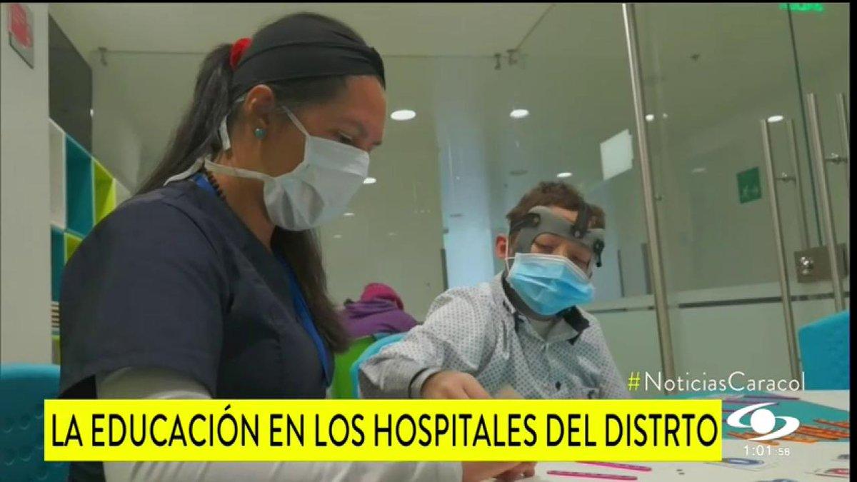 Conozca las aulas hospitalarias con las que los niños que padecen enfermedades pueden estudiar en centros de salud o en casa - http://bit.ly/2j4PAyM