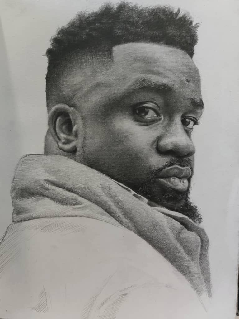 Sarkodie on twitter i do have management no man can do