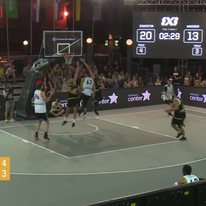 Team Edmonton chose the Magic way to finish the game 😁👊#3x3challenger