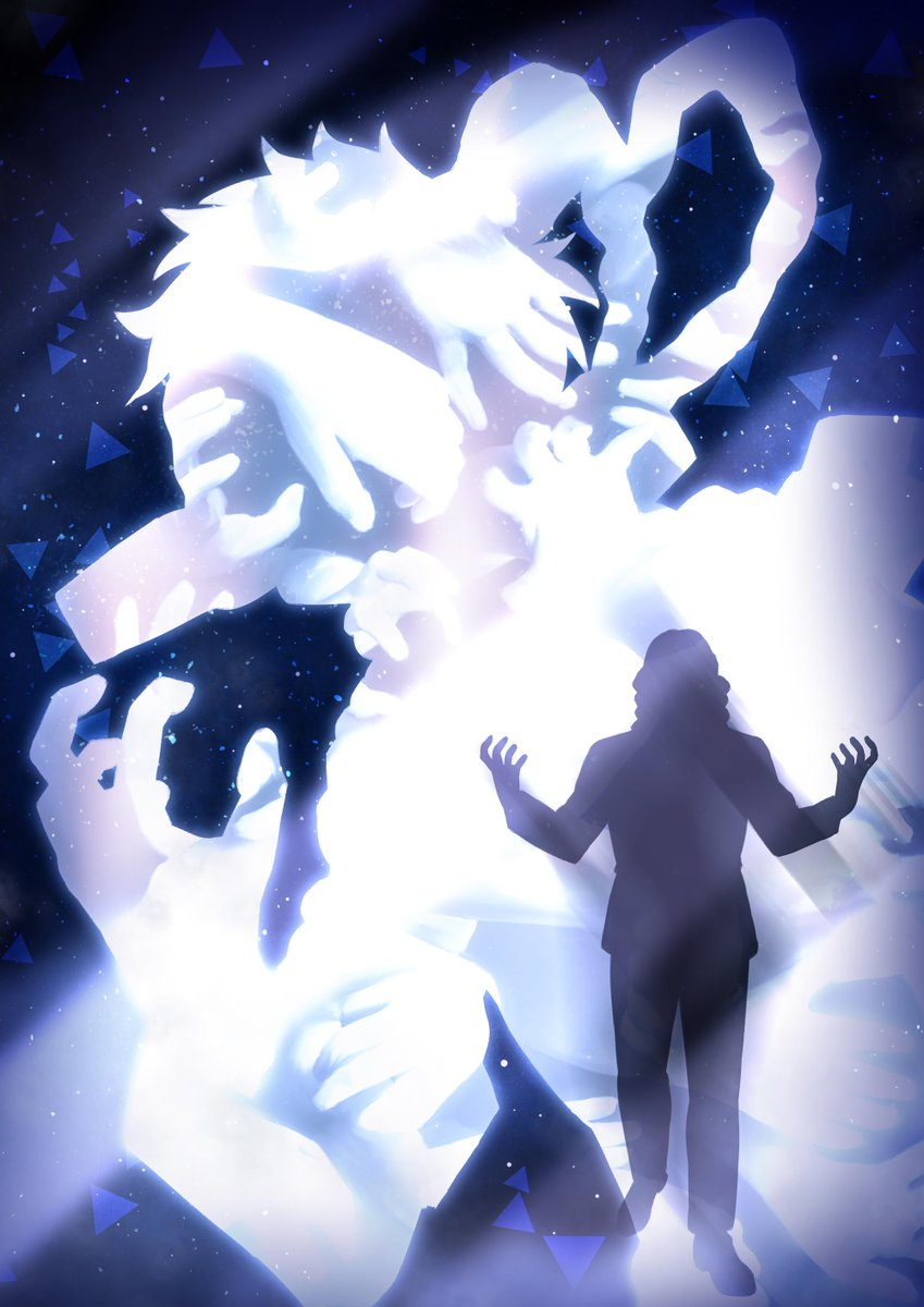 I really loved the last story arc of #bnha - it's nice to get some more insight into the #LeagueOfVillains, see where they came from and where they're going  So yeah, I guess I'll add some more villains to my silhouette series, starting with #Shigaraki ( ̄▽ ̄*)ゞ<br>http://pic.twitter.com/3h5lKA4N07