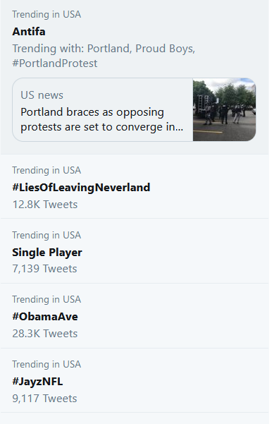 Currently trending in the United States and around the world... #LiesOfLeavingNeverland   No matter how ruthless the media and stakeholders in Wade/James' story have been since January, the entire attempt is only helping to highlight the con.  Also: #IKnewLeavingNeverlandWasBS <br>http://pic.twitter.com/WC8MxcGpru