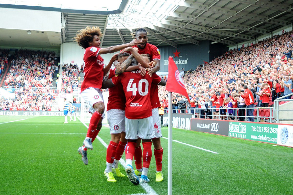 First win of the season infront of our fans 😍let's make Ashton gate a fortress this year 🙌🏾 big congrats to @Brownhill10 on being captain, more then Deserved 🤩 @BristolCity 🔴⚪️