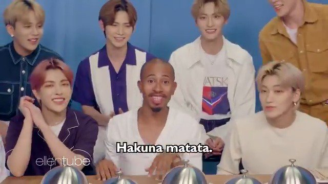 .@TheKalenAllen  did a mukbang with K-pop super group @ATEEZofficial . If you understood three of the words in that sentence, you're under 22. #OMKalen  #ATINY