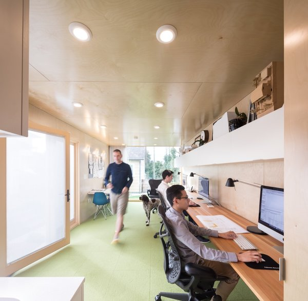 The interior of the shipping container has a #modern yet cozy look. #architecturaldesign   http:// cpix.me/a/79202911    <br>http://pic.twitter.com/qeK46w4auM