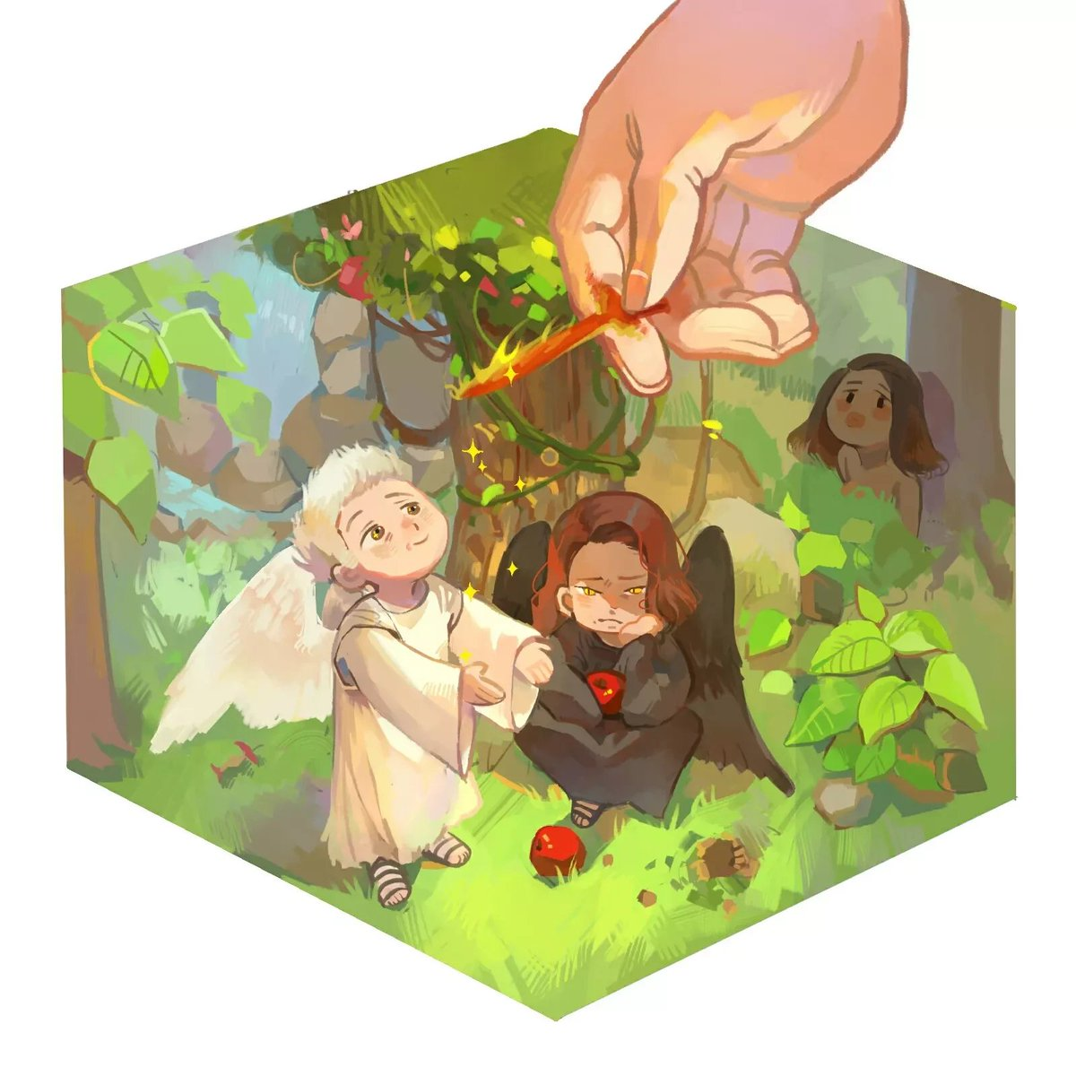 #GoodOmens  Garden of Eden/ the ineffable arrangement <br>http://pic.twitter.com/ONWaC6TAID