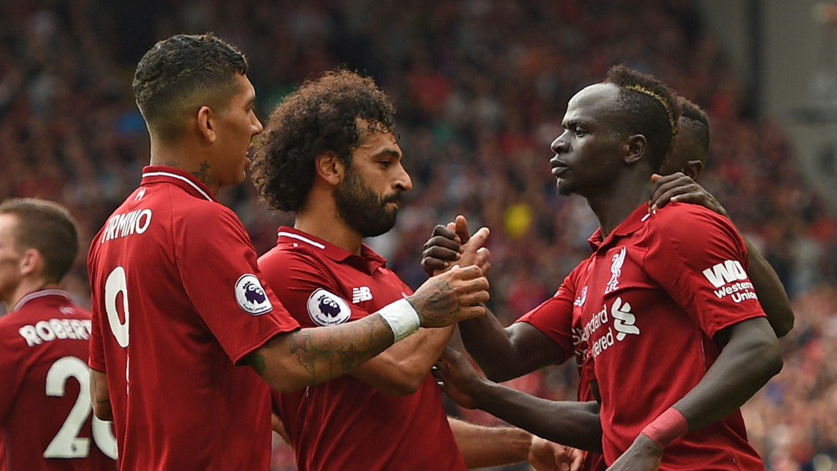 According to CIES: the values of our front 3:   Mohamed Salah (£200M) Sadio Mane (£144M) Roberto Firmino (£132M)
