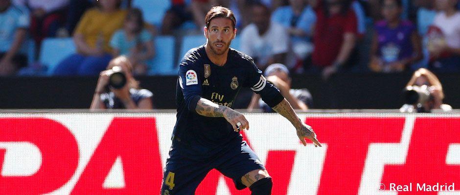 🛠✅ ¡@SergioRamos iguala las 283 victorias de Gento en la Liga! #HalaMadrid