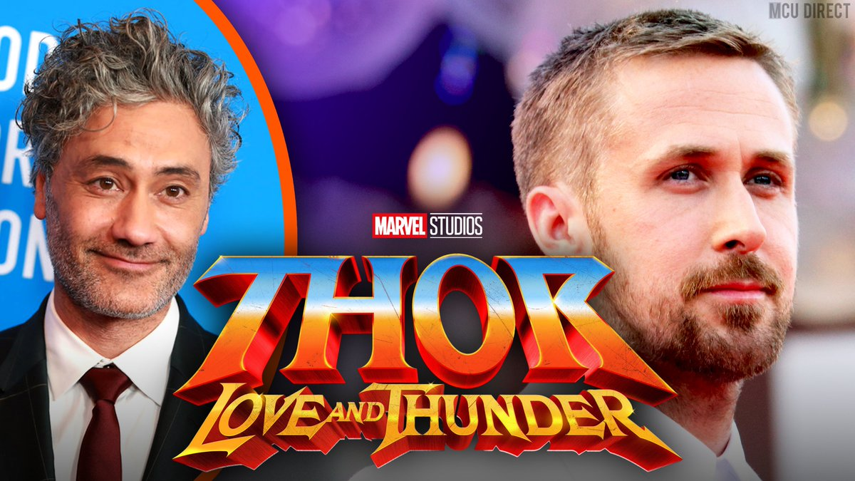 A recently-spotted meeting between actor Ryan Gosling and writer-director @TaikaWaititi could point to a potential #ThorLoveAndThunder role for the actor! bit.ly/33IAq8C