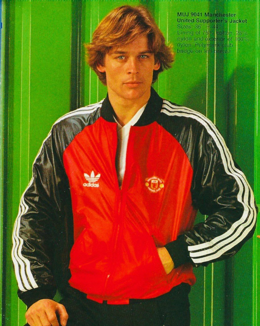 Mid 1980s Man United Supporters Jacket! Did anyone have one of these? ❤️⚽️😀