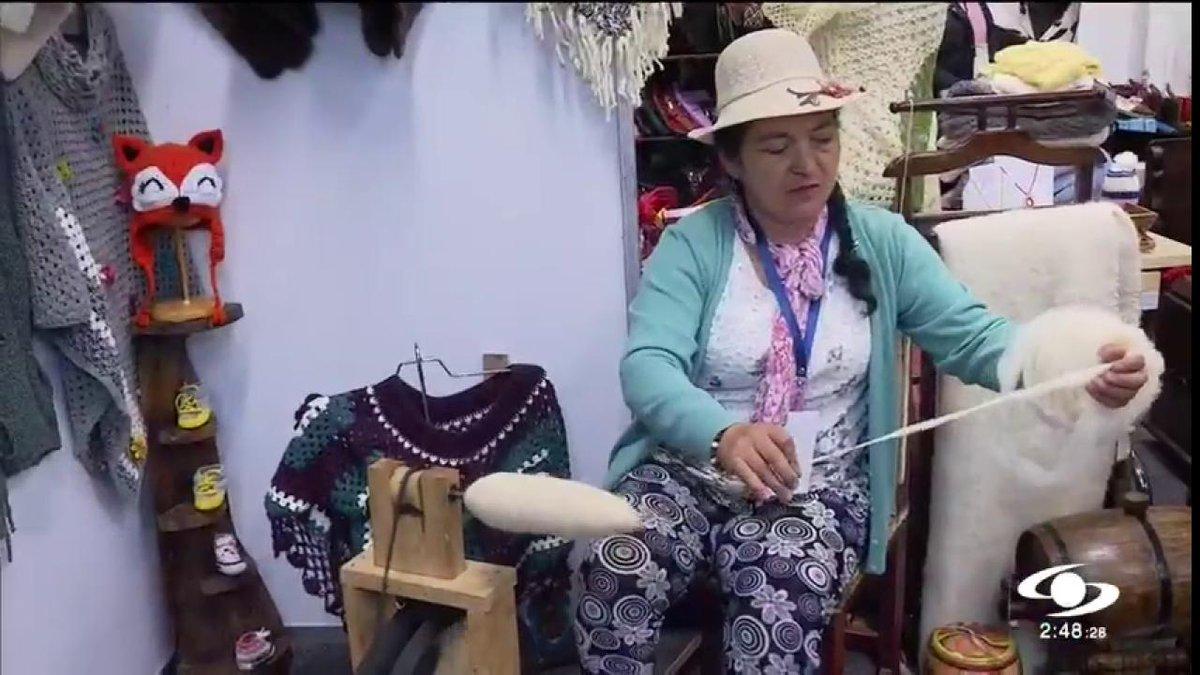 ¡Esto es Boyacá! Recorrido artesanal por el departamento del Bicentenario puede hacerlo en Corferias - http://bit.ly/2uQzKwL