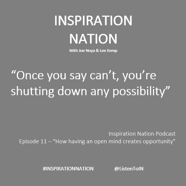 #InspirationNation #Podcast LISTEN NOW InspirationNation.org.uk @jncoachingtech @EvanCarmichael @eldiablo0786 @loveGoldenHeart @RAndrewAuthor @raehanbobby @melrobbins @drjoyce_knudsen @2ksunflower143 @BrianDEvans @Sabatekle @JohnMcGrathMB @BruceVH @BestEverYou @Karabo_Mokgoko