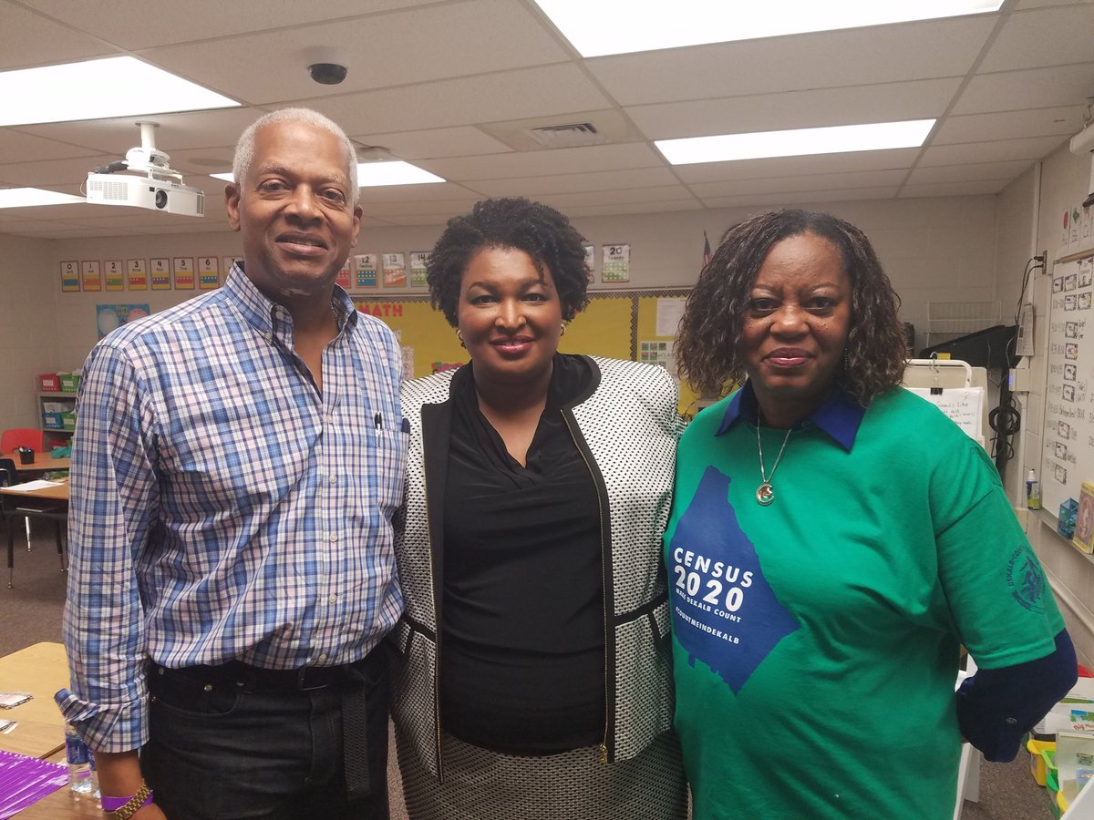 Here in Snellville w/ @staceyabrams and @meredadjohnson for @fairfightaction  GA launch #fairfightaction2020<br>http://pic.twitter.com/ufpoeAYj4X