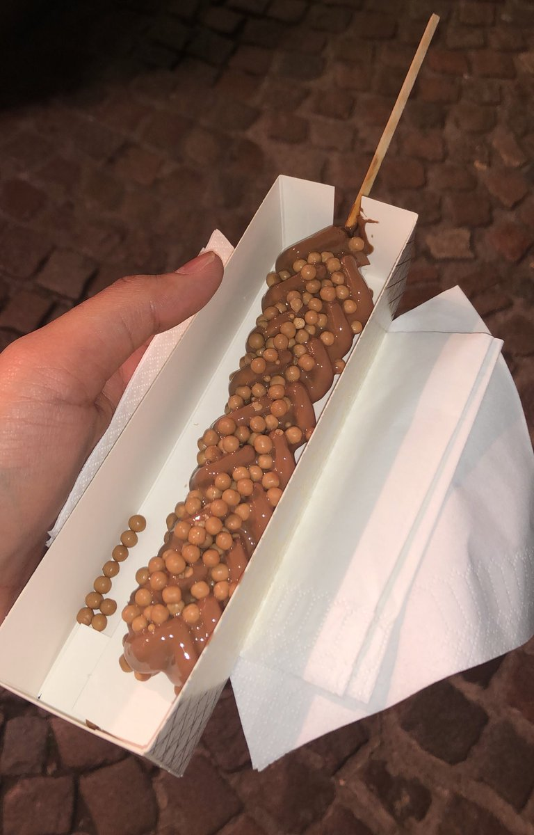 waffle on a stick! any of you wanna share? 😍