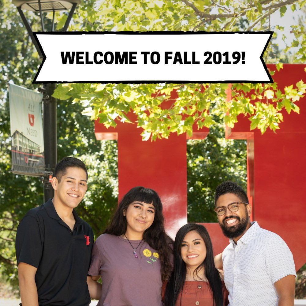 Welcome to Fall 2019!  The Dream Center is excited to welcome you to campus this Fall!  If you are an undocumented student (with or without DACA) or a student from a mixed-status family, please contact us at  http:// dream.utah.edu     or 801-213-3697.  We are here to support U! <br>http://pic.twitter.com/aSySI6NDRB