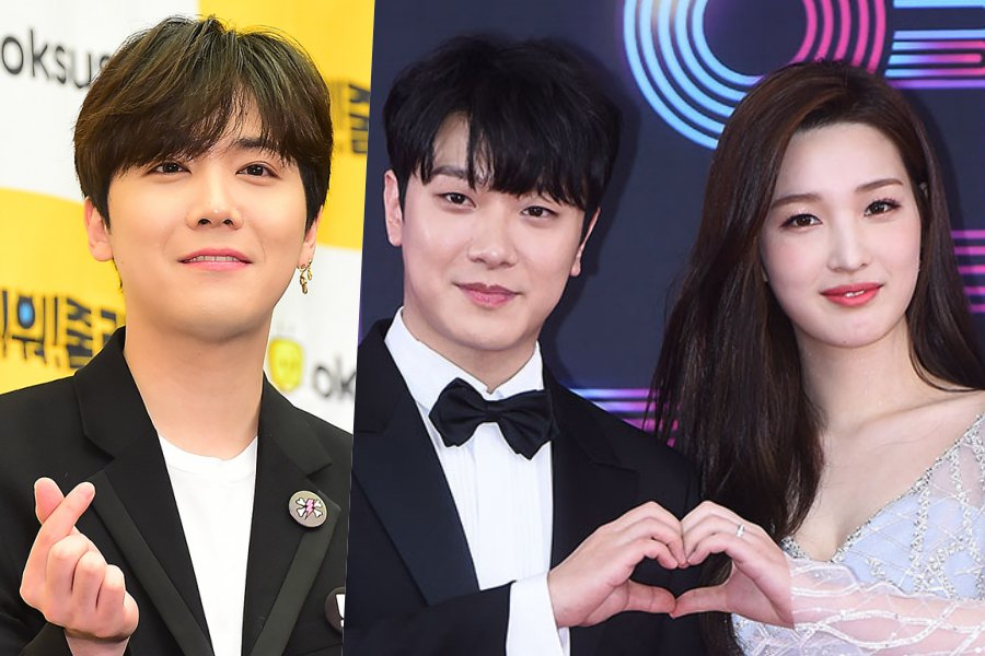 #FTISLAND's #LeeHongKi Has People Curious Whether #Minhwan And #Yulhee Are Expecting Twins https://t.co/SJPxEiD48w https://t.co/Kfe7bpfivI