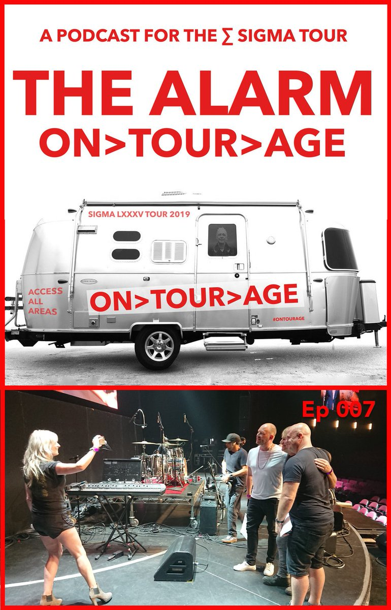 The latest episode of On Tour Age the podcast Im making for The Alarm is now available. Ep7 Indoor golf and Vanilla Ice. Get it here: bit.ly/2TGGJVC or wherever you get your podcasts from. #thealarm #OnTourAge @thealarm