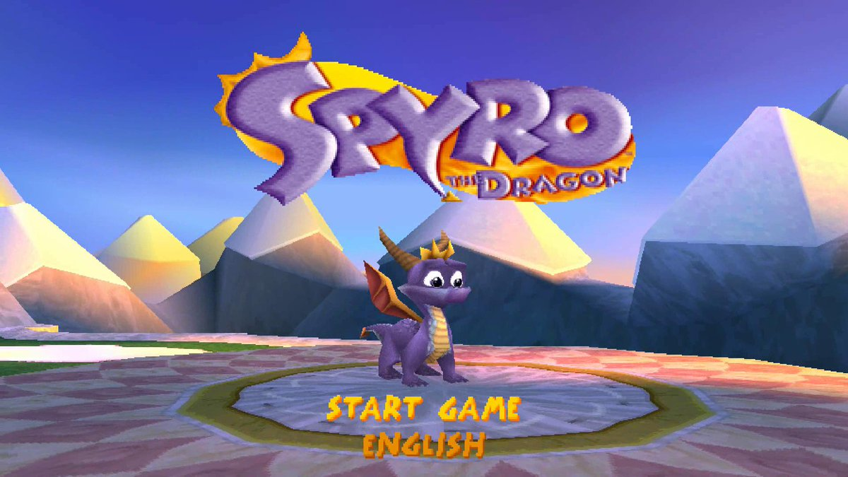 I love these classic title screens!  Good old times and memories.  #SpyroTheDragon #Spyro2 #SpyroyearoftheDragon #PSone <br>http://pic.twitter.com/MSNfyGUUq5