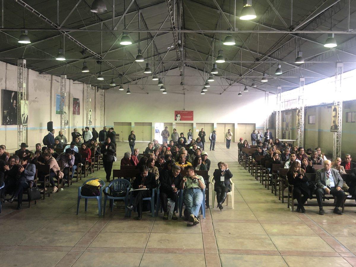 El LXVII Plenario Nacional del Partido Aprista Peruano aprobó hace un minuto, por unanimidad, respaldar la propuesta de presentar moción de vacancia de la Presidencia de la República.