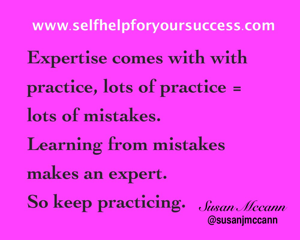 Expertise comes with practice... #Leaders #bethechange