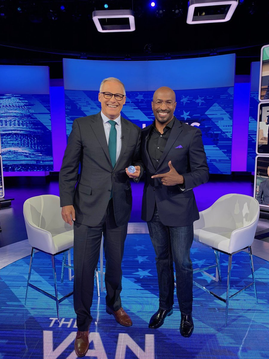 Be sure to tune in on @CNN tonight. I'll be on the #VanJonesShow at 7pm ET!
