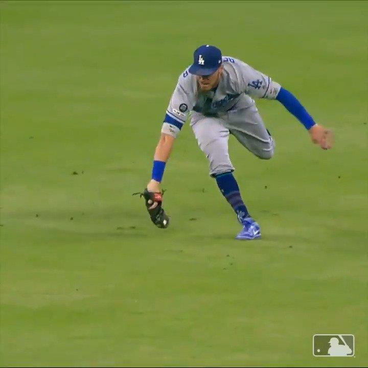 Cody Bellinger can do it all 😲  (via @MLB)
