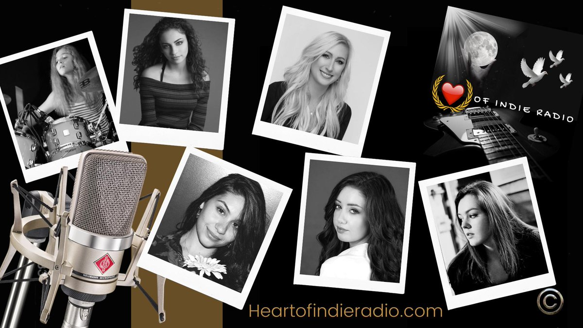 HEY- Check out our incredibly talented FEATURED ARTISTS @alessiacara @kirstenstefanek @MikalynMusic @EmmeLentino @sina_drums @averyraqueljazz These young ladies are leaving their mark in the #music world! #Indiemusic #IndieArtists <br>http://pic.twitter.com/ne9NmR2GvO