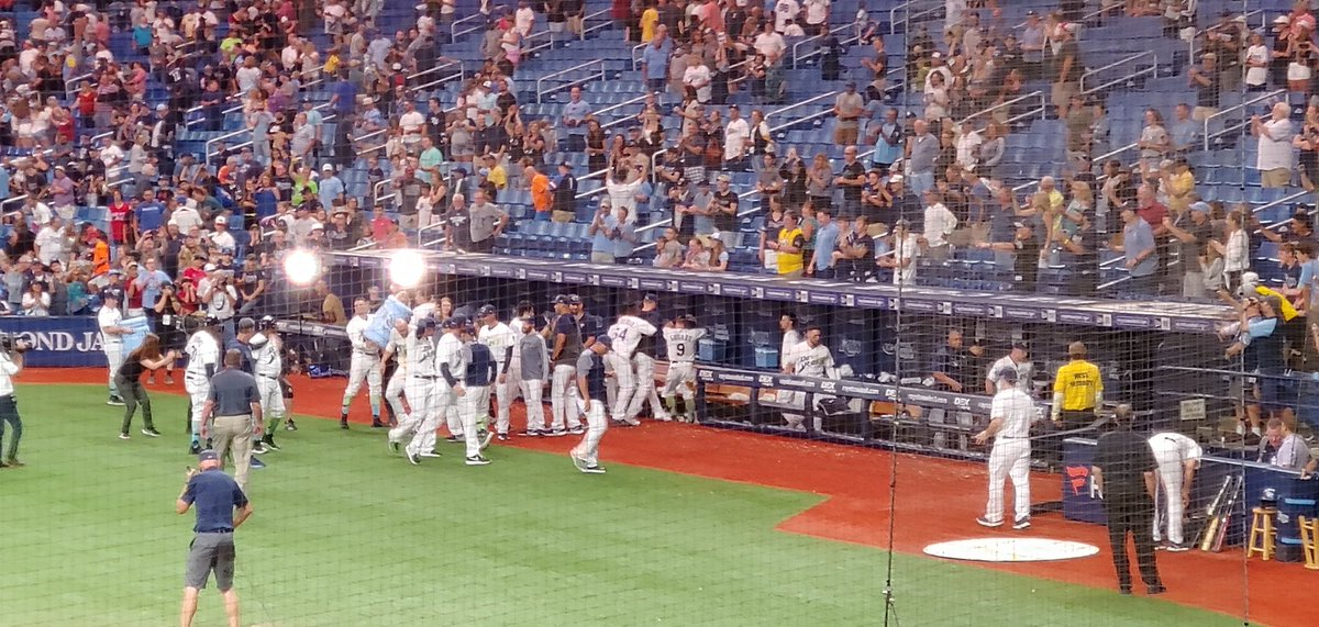 There we go #walkoff #RaysUp