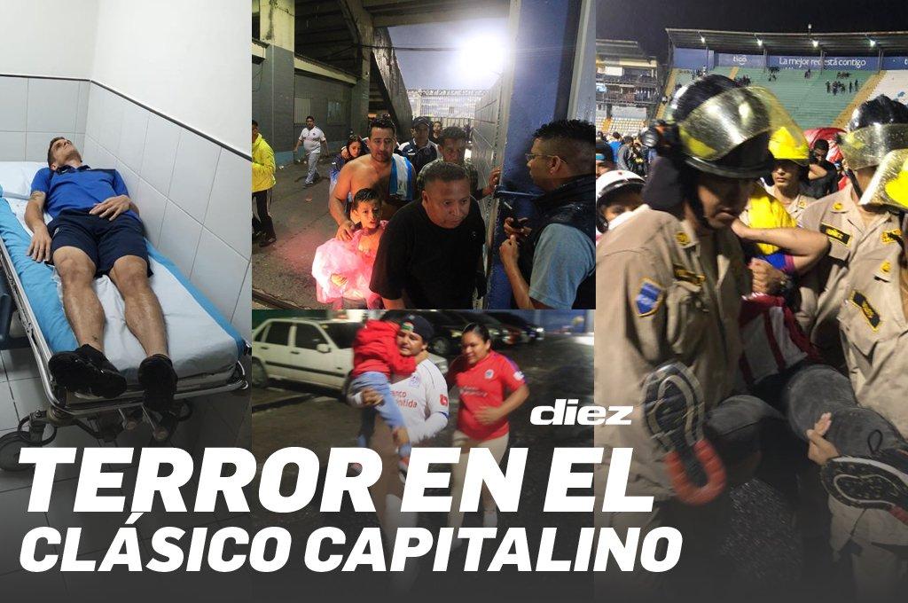 3 Muertos y 12 Heridos en un Estadio de Honduras