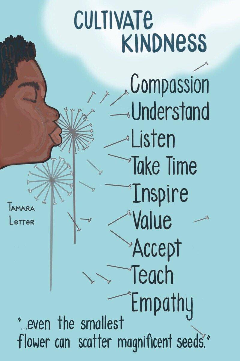 Thank you @tamaraletter! #CultivateKindness