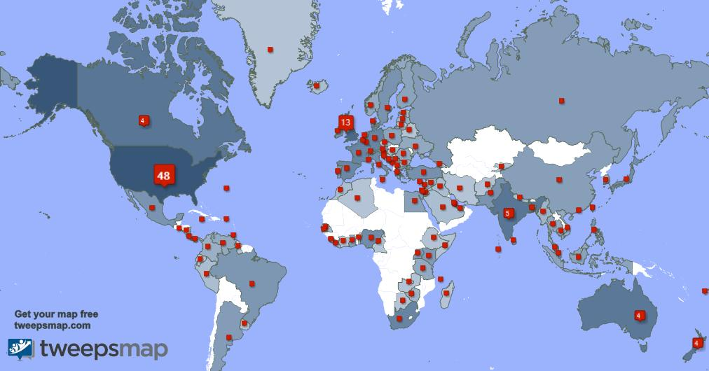 I have 24 new followers from USA 🇺🇸, and more last week. See tweepsmap.com/!nikki_tolich