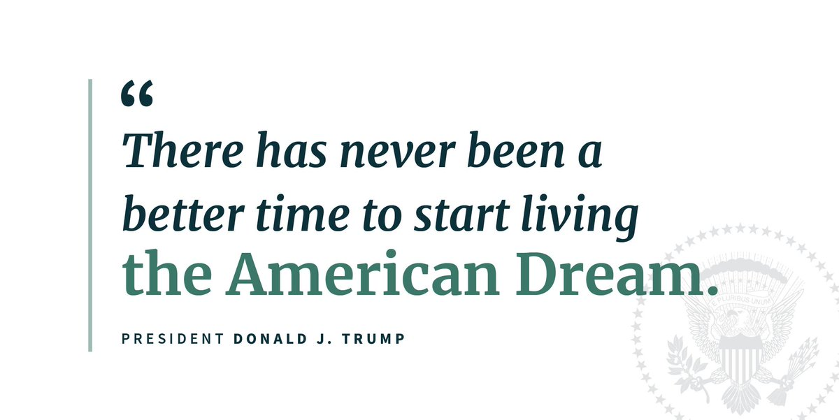 Business confidence, wage growth, and hiring are all on the rise.   Even the broadest measures of unemployment are dropping.  It's an incredible time for the American dream. 🇺🇸 https://t.co/NG41ujQPaz
