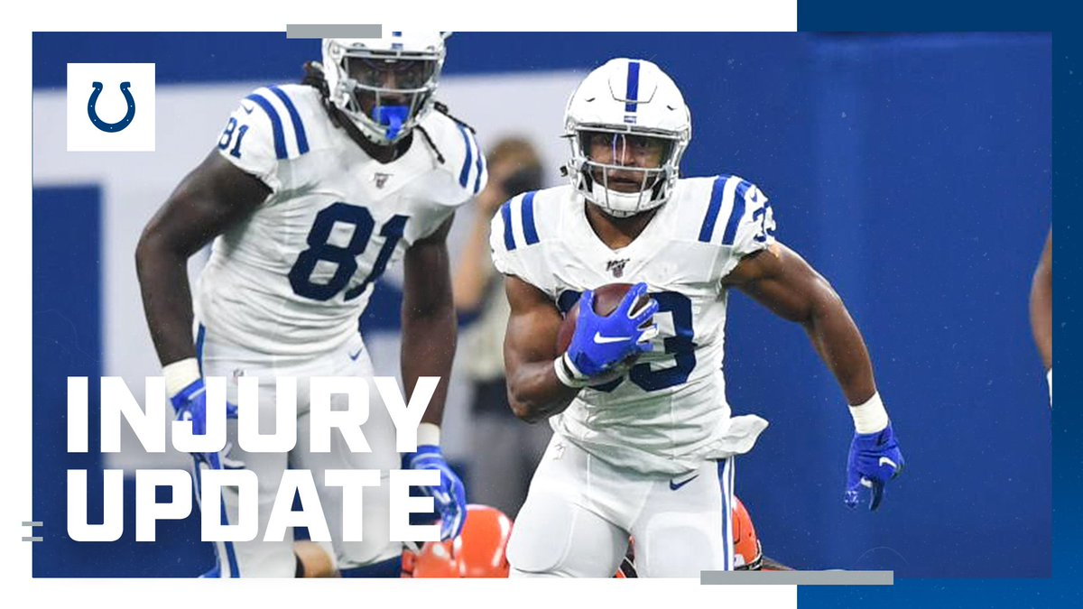 INJURY UPDATE: RB Jonathan Williams, chest, will not return. #CLEvsIND