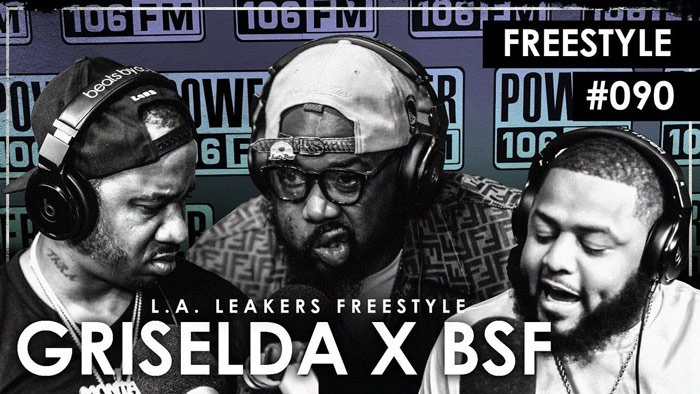 It's a GRISELDA x BSF takeover as @WHOISCONWAY, @BennyBSF and @RickHydeBeatz body their @LALeakers freestyle.  https:// 2dope.bz/2H6IQ07    <br>http://pic.twitter.com/UdWnByYWRs