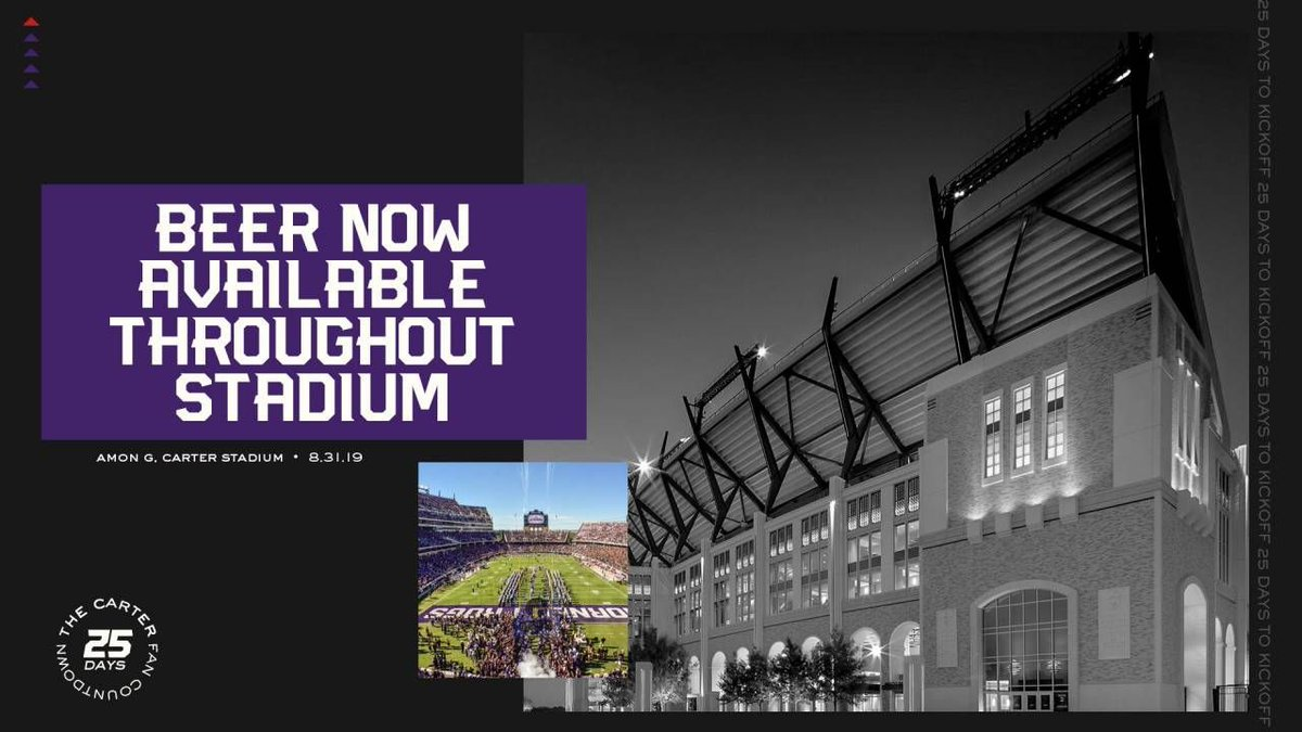 Should alcohol be sold at college football games? #CFB #TCU Vote on the My Sports Vote app! Free in the app store! https://t.co/zP4E4V8kDg https://t.co/yTTd5OXkDS