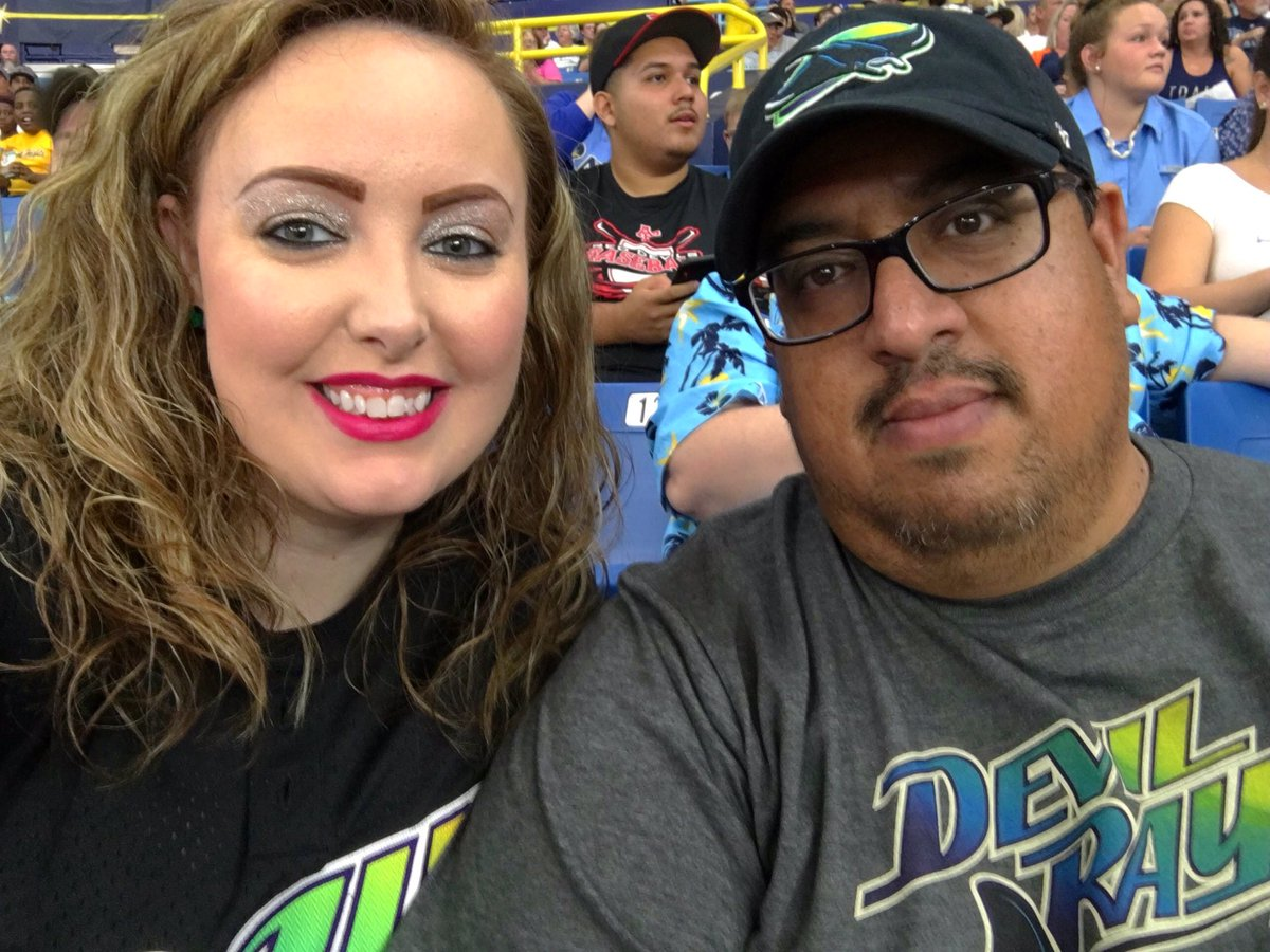 Back at the Trop for the second game of the series! Let's go Devil Rays!!! #RaysUp  #DevilRays #Rays @RaysBaseball<br>http://pic.twitter.com/B3zcdPeTgd