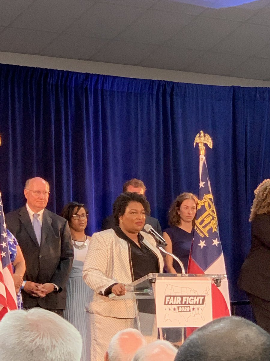 Packed house for the launch of @staceyabrams #FairFight2020 an initiative to staff, fund, and train voter protection teams on the ground in battle ground  states across the country! @fairfightaction<br>http://pic.twitter.com/xrcVcOcuJV