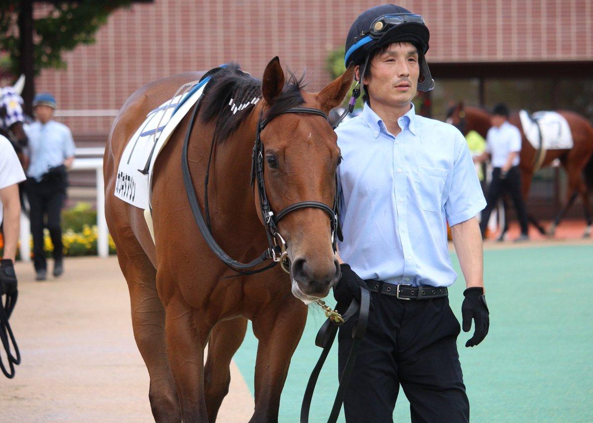 2019.08.17 札幌2R #カワキタアジン #クリストフ・ルメール 騎手
