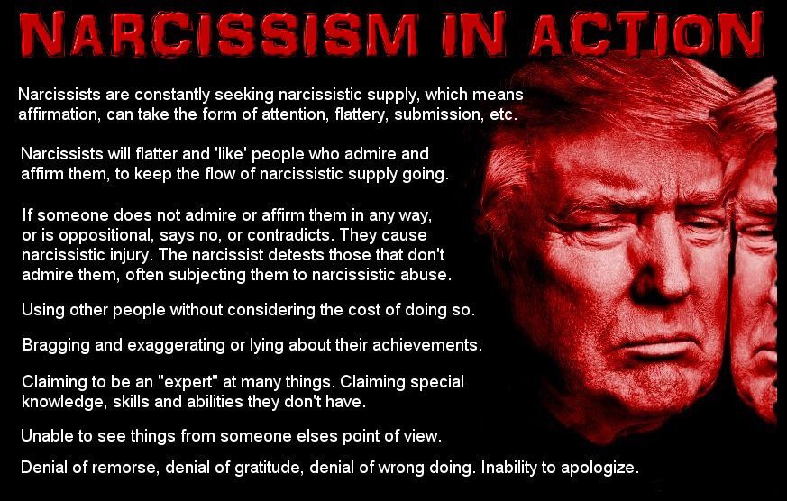 #DonTheCon must keep his cultural and racial wars at a slow boil since it looks like the economy may be tanking just in time for elections. The Blamer-In-Chief has to have someone to heap oppobrium on. Pure narcissistic thinking. What a fragile little birdie he is. <br>http://pic.twitter.com/2xSsp4jQJD