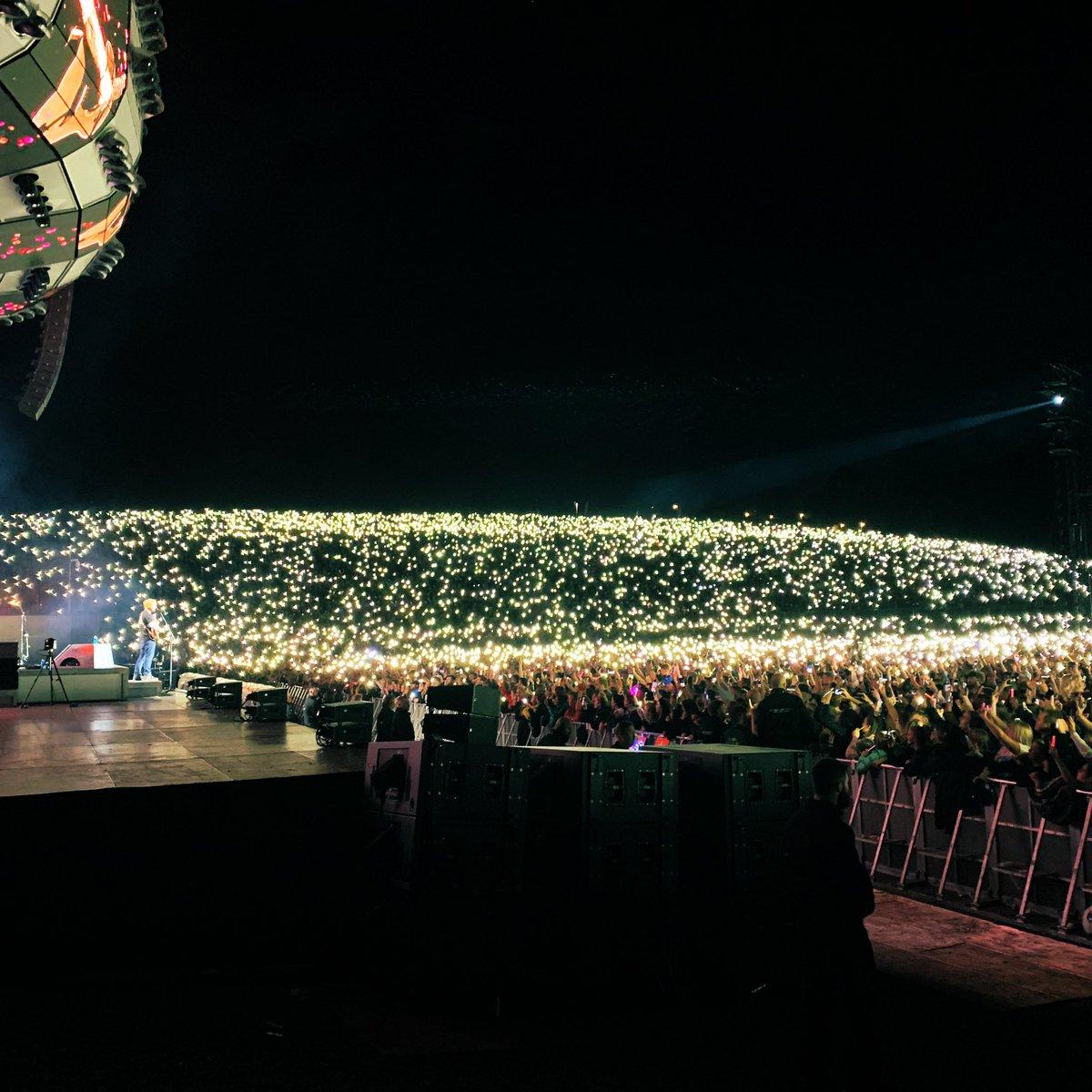 Ed Sheeran. Leeds. Amazing night.