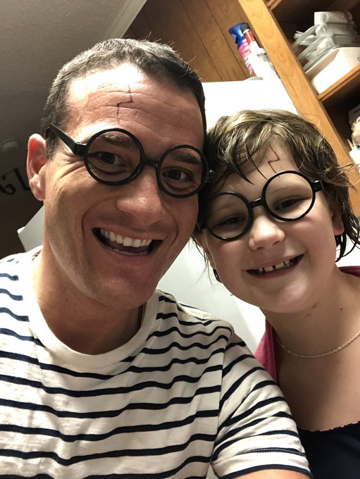 Happy 10th birthday to Makenna...enjoyed celebrating your love of Harry Potter with you...you are loved by so many!