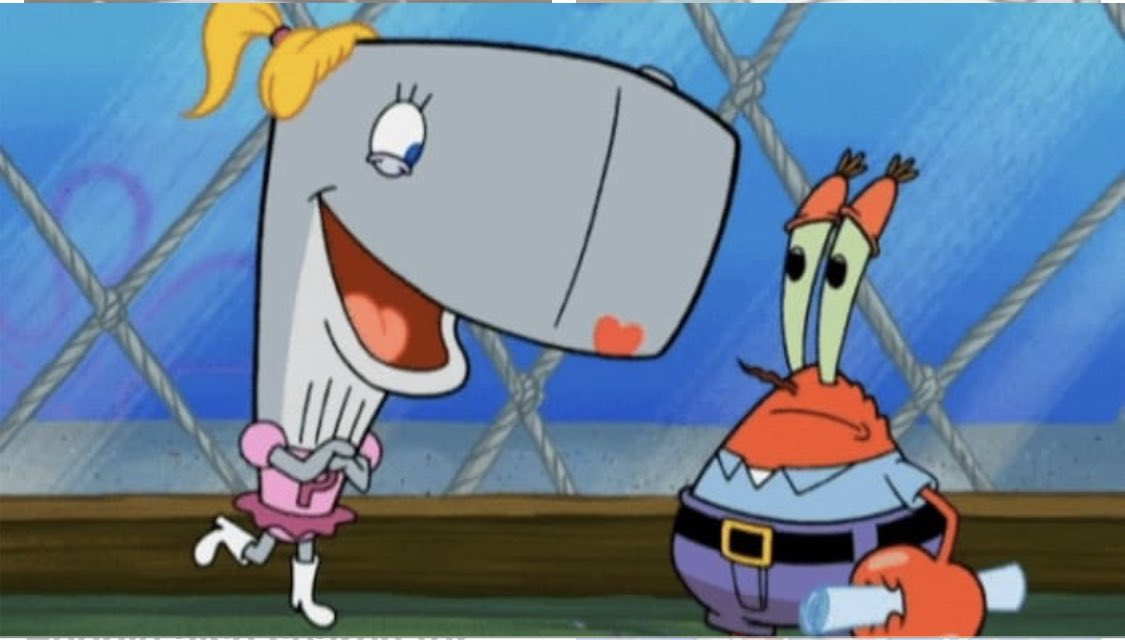 hey what's mr. krabs's daughter doing this summer? who knows but you can bet it's a hot pearl summer