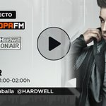 Image for the Tweet beginning: 🔴 #DIRECTO ¡Arranca @HARDWELL #ONAIR