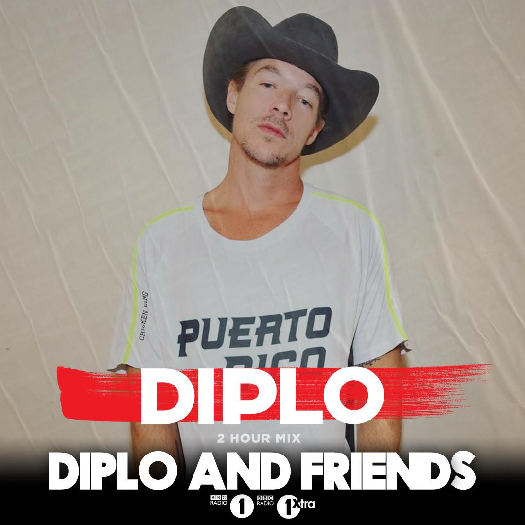Theres still another hour of @Diplo and Friends with the man himself in the mix! He draws for all the biggest Club Bangers and House Vibes 👉bbc.in/31KEcgg for @antiupmusic @iamTchami @PaulWoolford @JamieJonesMusic and more 🔥