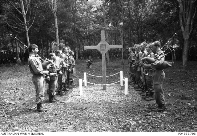 Today, on Vietnam Veterans Day, we pay respect to, and remember, those Australians who fought in the Vietnam War.   The bravery, tenacity and sacrifice of our people will never be forgotten.   #LestWeForget <br>http://pic.twitter.com/QEKogxOgEs