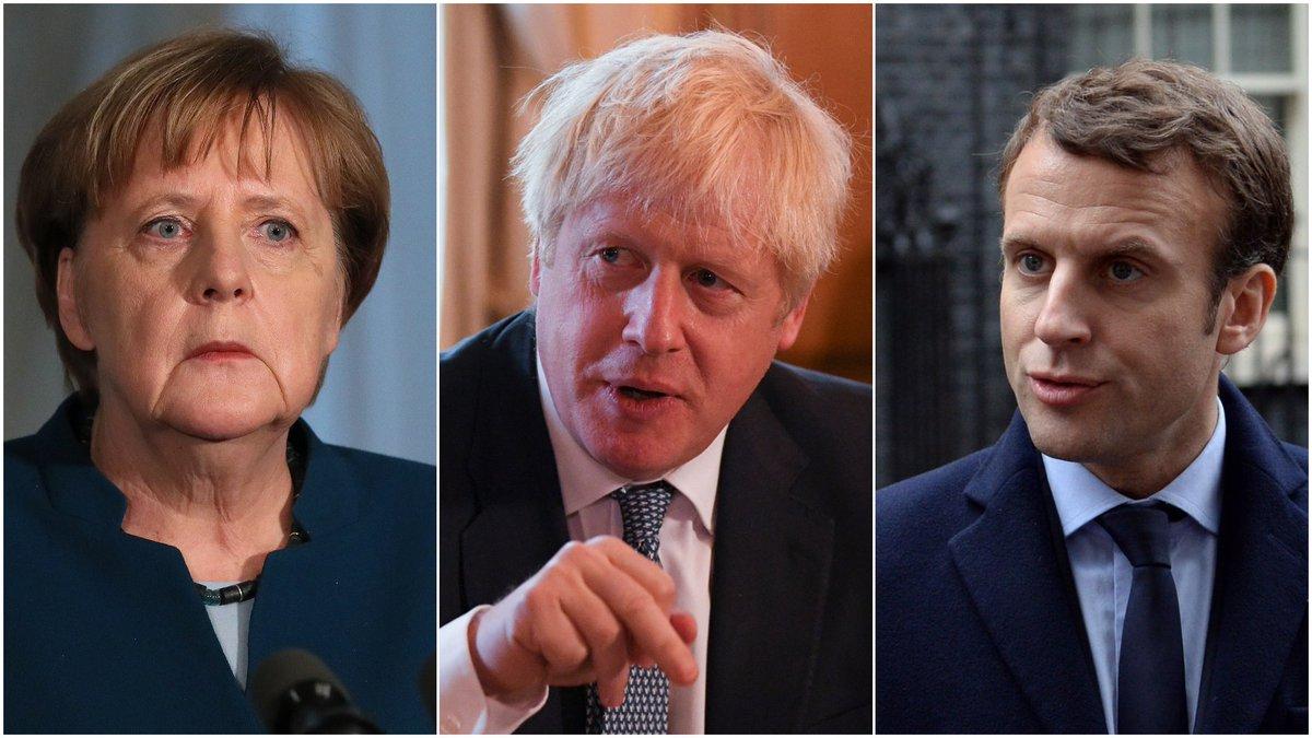 Boris Johnson to tell Angela Merkel and Emmanuel Macron there must be new Brexit deal itv.com/news/2019-08-1…
