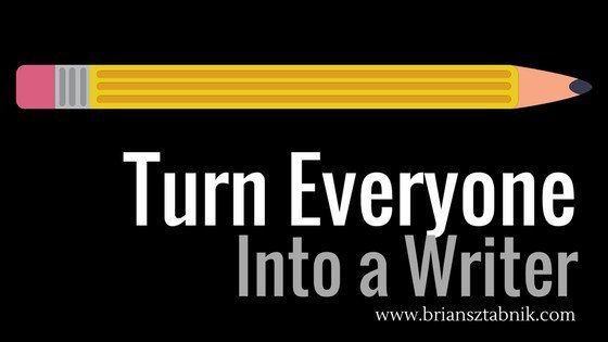 This one approach turned my classroom into a community of writers. Student Blogs: How to Turn Everyone into a Writer  https://www. briansztabnik.com/how-to-turn-ev eryone-into-a-writer/  …  #engchat #elachat #aplitchat<br>http://pic.twitter.com/Nc8rjVxnmG