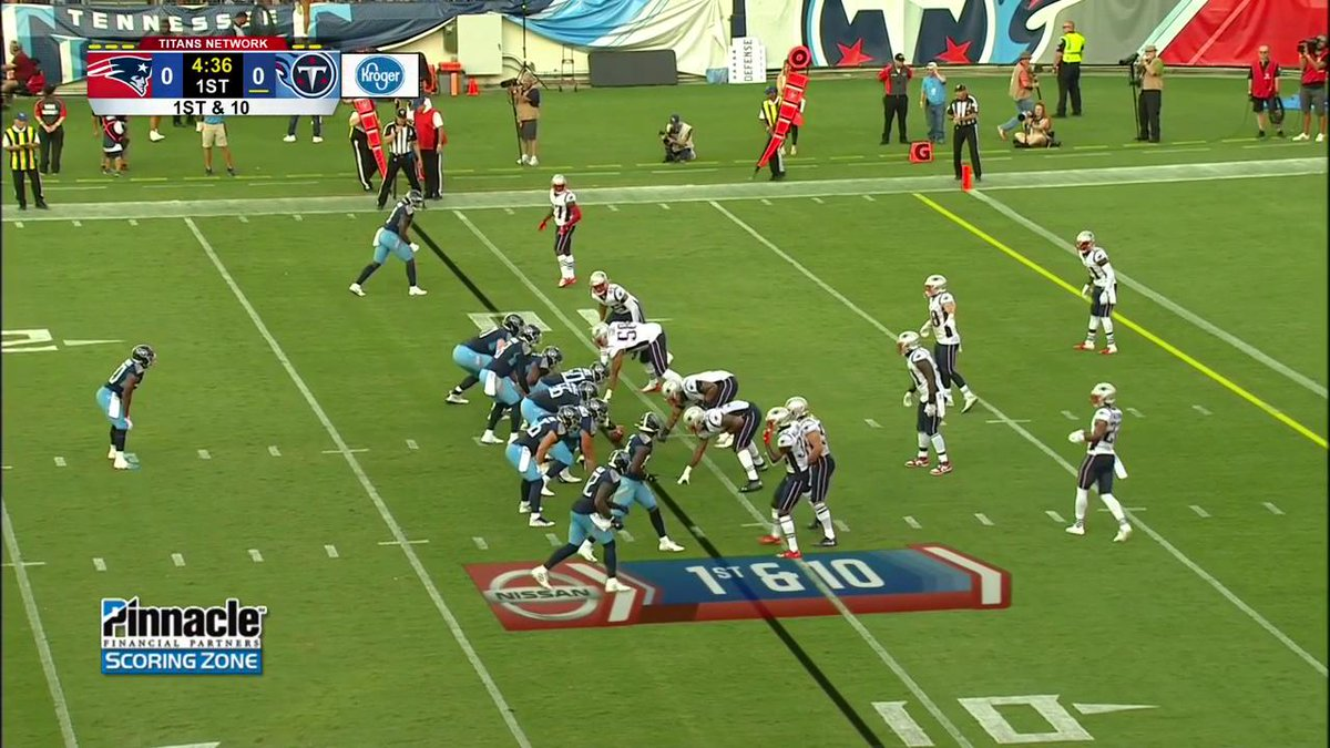 Delanie Walker did not have a TD in 2018. ⬇️ This ⬇️ is a soothing sight for @Titans fans 💪 (via @titans)