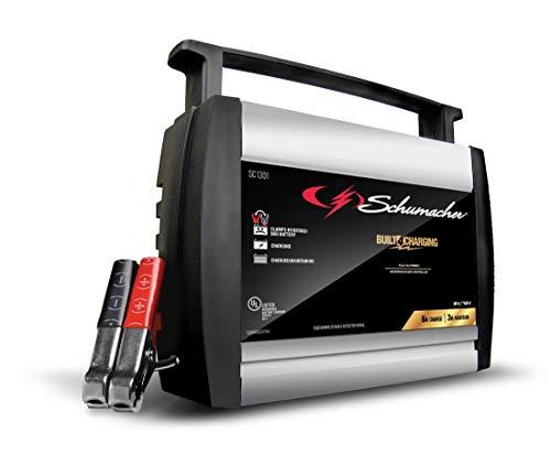 DieHard 71326 6/12V Gold Shelf Smart Battery Charger and 12/80A ...