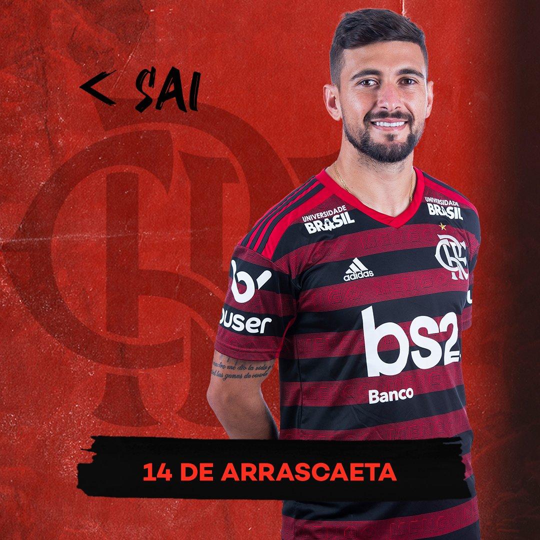 42' | 2ºT | 1-4 - Última alteração no Flamengo:  ▶Entra: Piris da Motta  ◀Sai: Arrascaeta  #VASxFLA #VamosFlamengo https://t.co/ep1qy88izM
